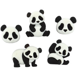 Dress It Up napit Panda Pile