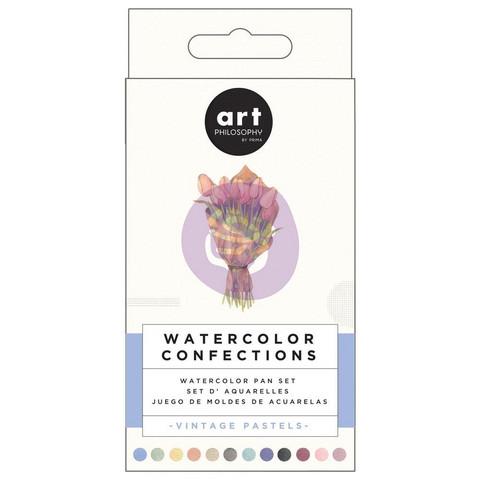 Prima Watercolor Confections, Vintage Pastel, vesivärit