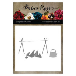 Paper Rose -stanssisetti Campfire With Billy