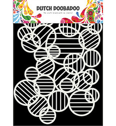 Dutch DooBaDoo sapluuna Mask Art Circle Lines