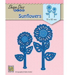 Nellie's Choice stanssisetti Sunflowers