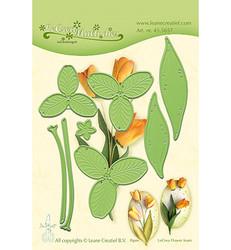 Leane Creatief Flower 017 Tulip -stanssisetti
