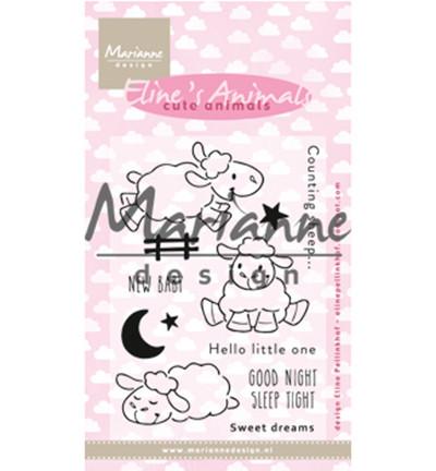 Marianne Design Eline's Cute Animals, Sheep -leimasinsetti