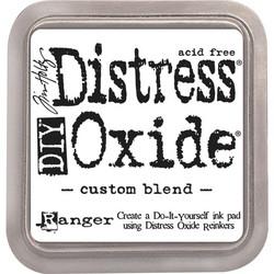Distress Oxide DIY -mustetyyny, tee-se-itse