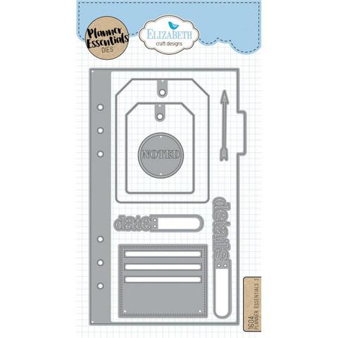 Elizabeth Craft Designs Stanssisetti Planner Essentials 2 Kasitellen