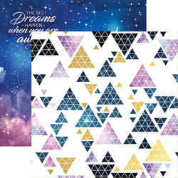 Paper House Stargazer skräppipaperi Night Sky, foiled