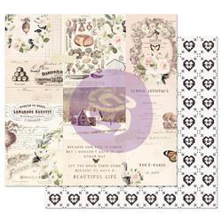 Prima Spring Farmhouse -skräppipaperi Wander