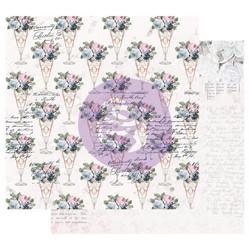 Prima Poetic Rose -skräppipaperi Sweet Taste