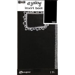 Dylusions Dyalog Insert Book Black 2, muistikirja