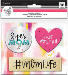 Mambi Planner Patches Super Mom