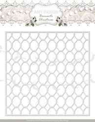 Amy Design Brocante Christmas stanssi Wire Frame