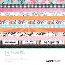 Kaisercraft paperikko Blessed