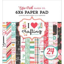 Echo Park I Heart Crafting -paperipakkaus