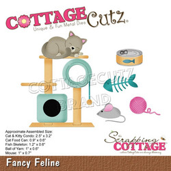 CottageCutz stanssi Fancy Feline