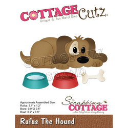 CottageCutz stanssi Rufus The Hound