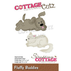 CottageCutz stanssi Fluffy Buddies