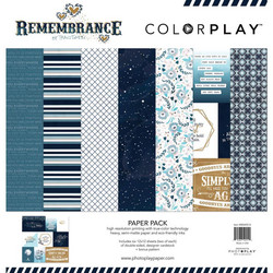 ColorPlay Remembrance -paperipakkaus, 12