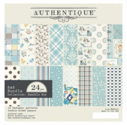 Authentique paperipakkaus Swaddle Boy
