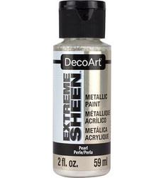 DecoArt Extreme Sheen Metallics -maali, sävy Pearl