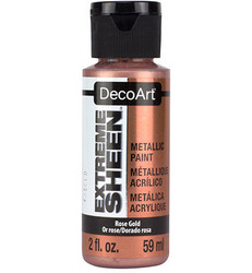 DecoArt Extreme Sheen Metallics -maali, sävy Rose Gold