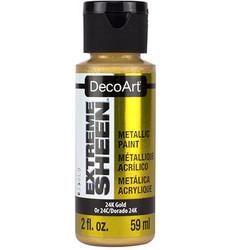 DecoArt Extreme Sheen Metallics -maali, sävy 24K Gold