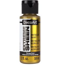 DecoArt Extreme Sheen Metallics -maali, sävy Vintage Brass