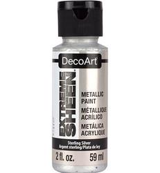 DecoArt Extreme Sheen Metallics -maali, sävy Sterling Silver