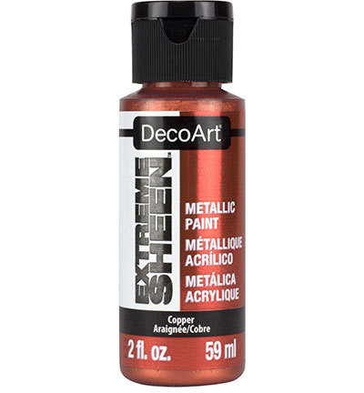 DecoArt Extreme Sheen Metallics -maali, sävy Copper