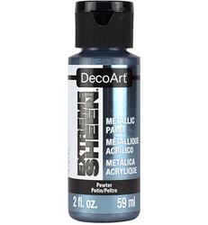DecoArt Extreme Sheen Metallics -maali, sävy Pewter