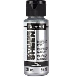 DecoArt Extreme Sheen Metallics -maali, sävy Silver
