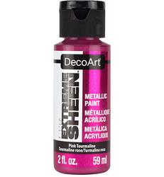 DecoArt Extreme Sheen Metallics -maali, sävy Pink Tourmaline