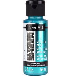 DecoArt Extreme Sheen Metallics -maali, sävy Aquamarine