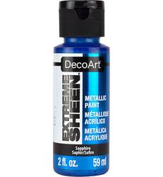 DecoArt Extreme Sheen Metallics -maali, sävy Sapphire