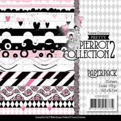 Yvonne Creations paperipakkaus Pretty Pierrot 2