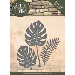 Jeanines Art Art Of Living stanssisetti Leaves