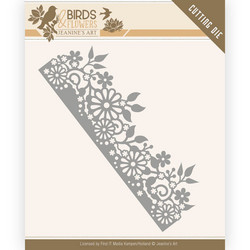Jeanines Art Birds and Flowers stanssi Daisy Border