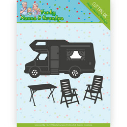 Yvonne Creations Funky Nanna's stanssisetti Camper