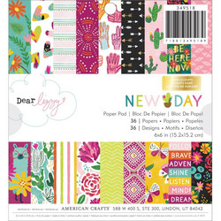 American Crafts paperipakkaus Dear Lizzy New Day