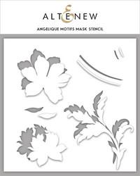 Altenew maski- ja sapluunasetti Angelique Motifs