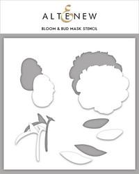 Altenew maski- ja sapluunasetti Bloom & Bud