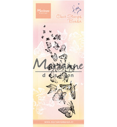Marianne Design Tiny's Border Butterflies -leimasin