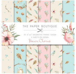 The Paper Boutique paperikko Dawn Chorus