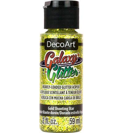 DecoArt Galaxy Glitter -maali, sävy Gold Shooting Star