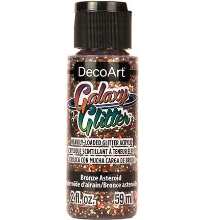 DecoArt Galaxy Glitter -maali, sävy Bronze Asteroid