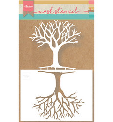 Marianne Design sapluuna Tree