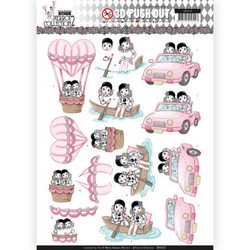 Yvonne Creations Pretty Pierrot 2 3D-kuvat Car Trip