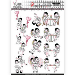 Yvonne Creations Pretty Pierrot 2 3D-kuvat Love Is In The Air
