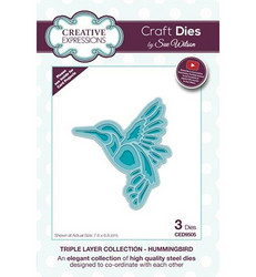 Creative Expressions Triple Layer stanssisetti Hummingbird