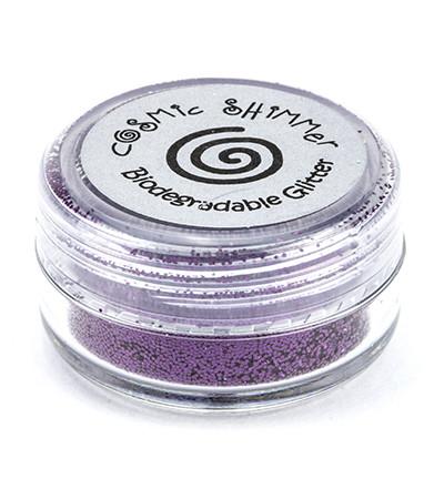 Cosmic Shimmer biologisesti hajoava glitter jauhe, sävy Wild Plum