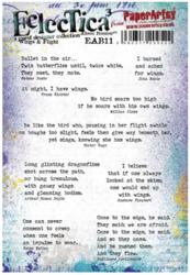 PaperArtsy Alison Bomber leimasinsetti Wings and Flight